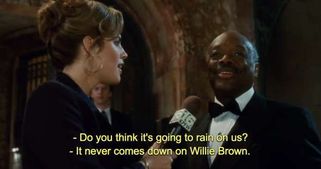 Willie Brown actually WAS mayor of San Francisco! | Princess diaries, Going  to rain, Things to think about